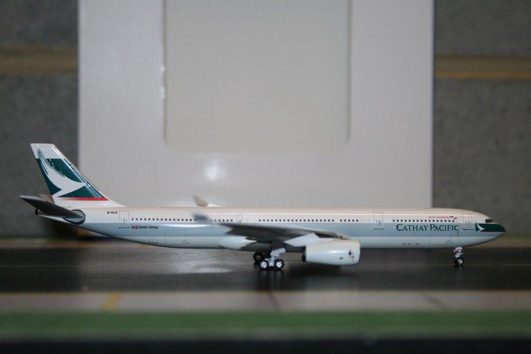 Aeroclassics 1 400 Cathay Pacific Airbus A330-300 B-HLG (ACBHLG) Model Plane