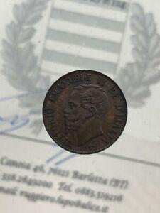 1-Cent-1867-Milano-Spl-Vereinigte-D-039-Italia-Vittorio-Emanuele-II