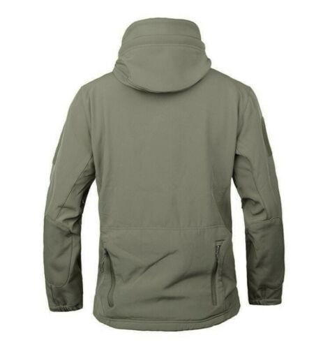 Men/'s Fishing Soft Shell Hunting Outdoor Jacket Waterproof Windproof Colthing