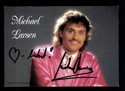 Autogramme & Autographen Michael Larsen Autogrammkarte Original Signiert ## Bc 64069 Direktverkaufspreis