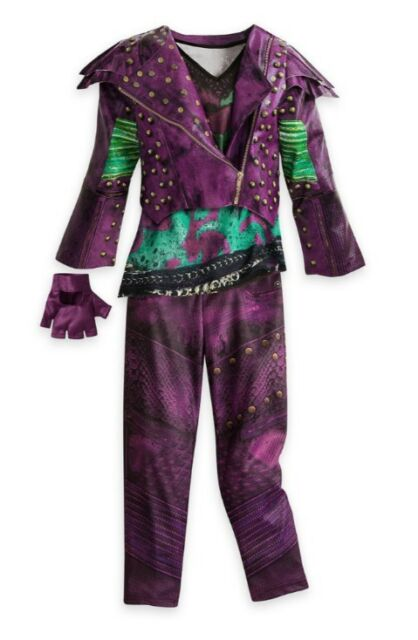NWT Disney Store Descendants 2 Mal Halloween Costume Dress up size All Sizes