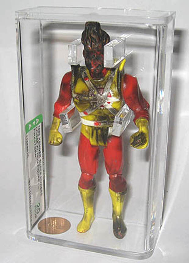 1985 Kenner Super Powers Firestorm AFA 20 Action Figure