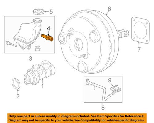 GM OEM-Brake System Fluid Level Sensor 22884568