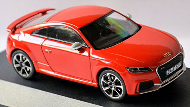 Audi Tt Rs Coupé Type : Fv / 8s 2014-18 Rouge de Catalogne Red 1:43 I-Scale