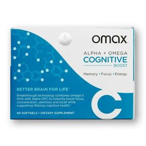Omax® Cognitive Boost Memory Supplement, Direct from Manufacturer, 20% Off