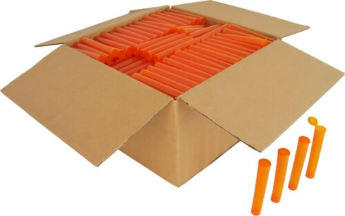300 Pre-Roll Tubes Orange 109mm King Size Herbs Storage Meds Spices PRT109TO