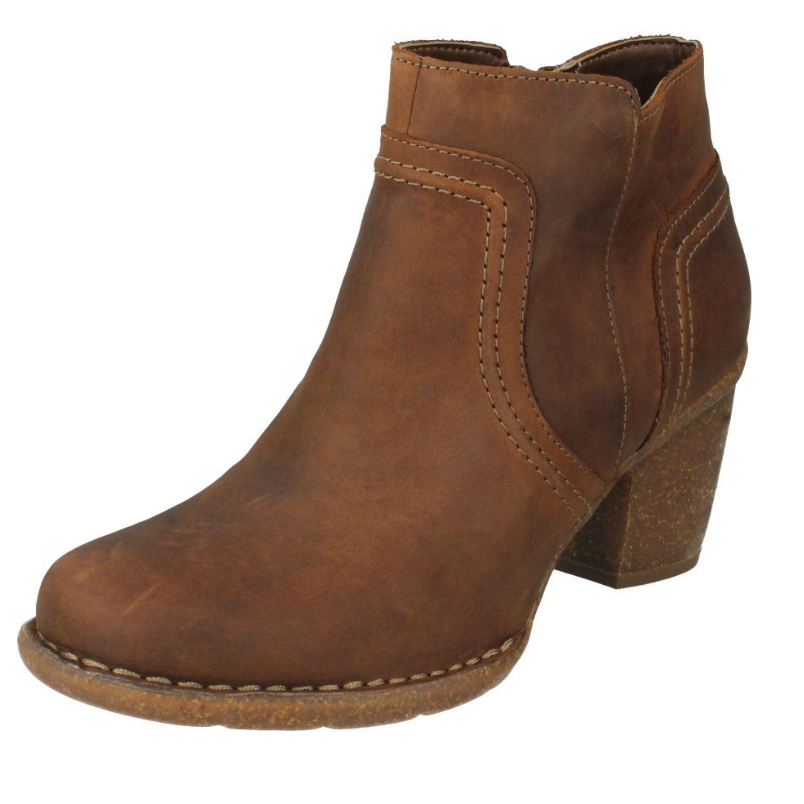 Damas Clarks Grueso botas al Tobillo 'carleta 'carleta Tobillo París's 74a471
