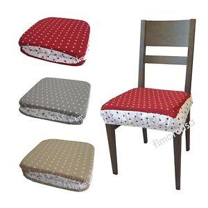 Coppia cuscino per sedia vestosedia con elastico e riccio for Cuscino per cani fai da te
