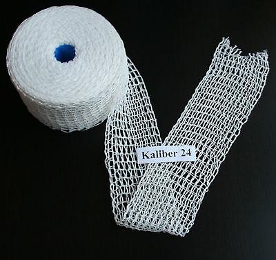 10m Kaliber 24 Bratennetz Schinkennetz Rouladennetz Räuchernetz Rollbratennetz