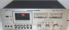 Vintage 1970's Marantz Model 5025B Stereo Cassette Deck Player Parts and Repair