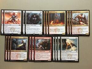 Details about MTG White Red Boros Control Deck Mentor Guilds of Ravnica  Standard Magic GRN