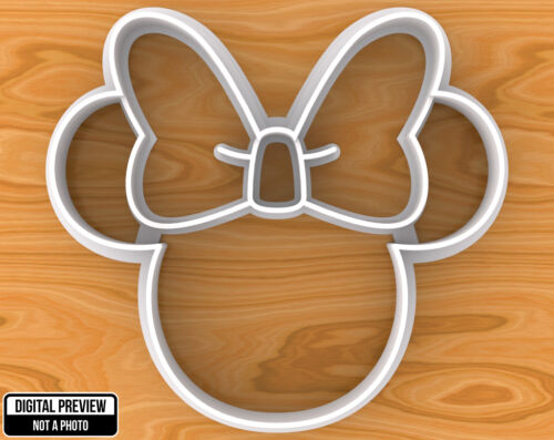 Minnie Mouse Cookie Cutter Selectable sizes.