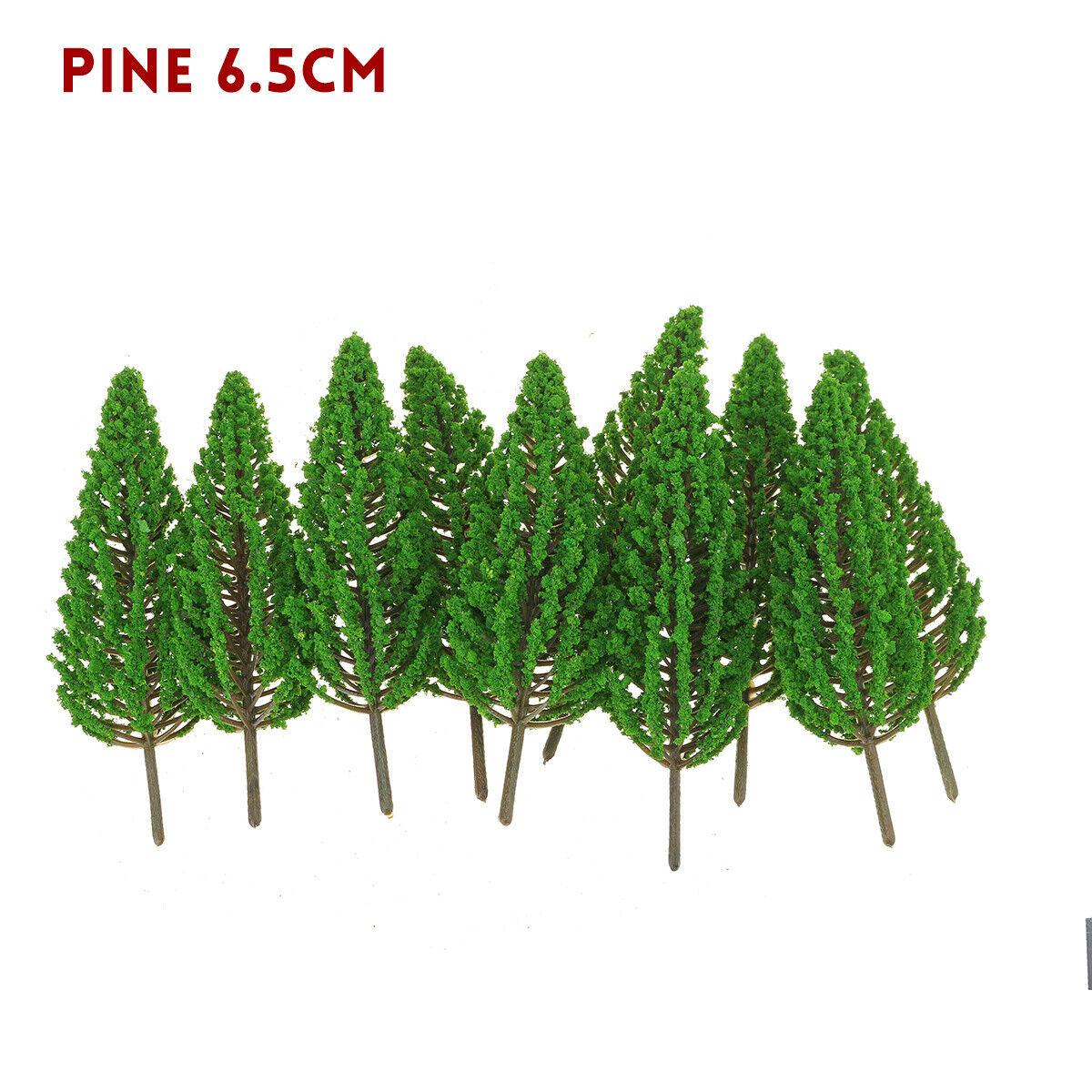 10pcs Mini Double Coconut Tree Plastic Desk Deco Small Artificial Plant Ornament