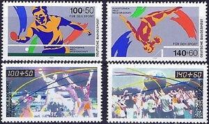 BRD-1989-und-1990-Sportmarken-Nummer-1408-1409-1449-1450-postfrisch-1803