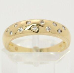 Brillantring  ♢♢♢18kt 750 Brillant Gold Ring mit Brillanten Brillantring ...