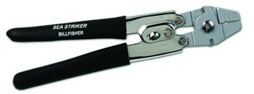 SEA STRIKER Billfisher Heavy Duty Hand Crimper Deluxe Swager  Grips Rigging Gear  online shopping and fashion store