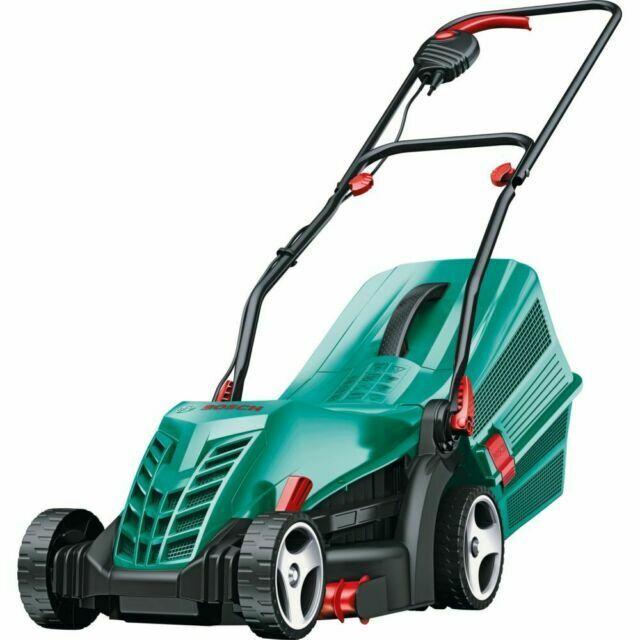 Bosch Rotak 34-13 1300W Rotary Lawnmower - Green