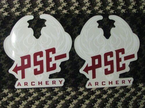 * Nouveau PSE Tir à L/'Arc Logo Decals Paquet de 2 Retail $20 vente 6 dollars pour 2