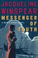 Maisie Dobbs Mystery: Messenger of Truth 4 by Jacqueline Winspear (2006, Hardcover)