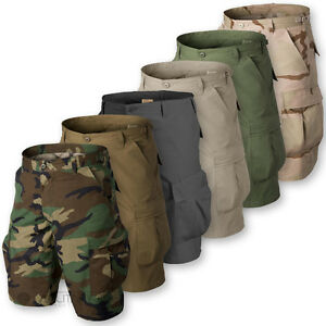 HELIKON-BDU-SHORTS-MENS-MILITARY-STYLE-ARMY-CARGO-COMBAT-RIPSTOP-BDU-VINTAGE-NEW