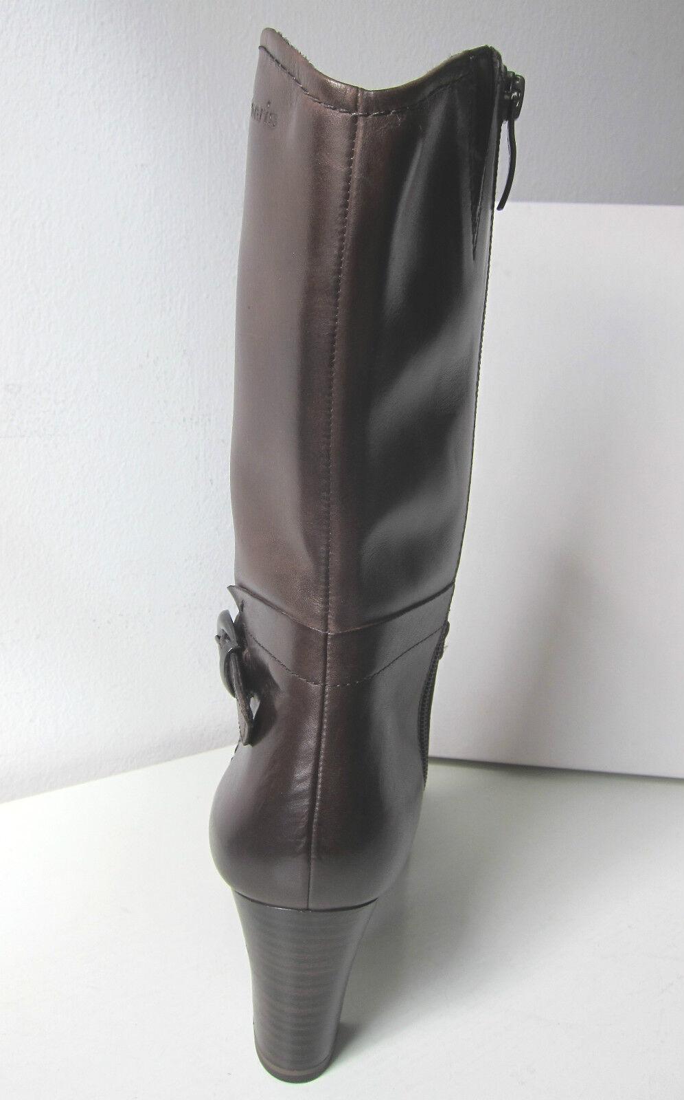 Tamaris halbhohe Stiefel Stiefel Stiefel Stiefeletten braun mocca 37-41 Stiefel Stiefelee braun 3 4 fd89a4
