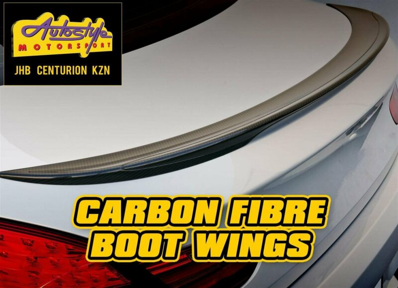 Carbon Fibre bootwings, bootspoilers, thin lips etc  suitable for BMW m3, e90, e92, e46, e36, Audi