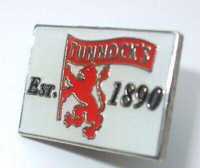 TUNNOCKS  logo Lapel Cap Pin Badge FREE UK POSTAGE