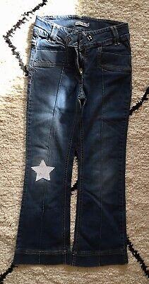 Ingegnoso Pantalon Jeans Tape à L'œil 10 Ans Taille Reglable Non-Stireria