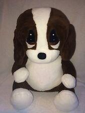 """Sad Sam Honey Large Plush Dog Stuffed Animal Bassett Hound Toy 15"""""""