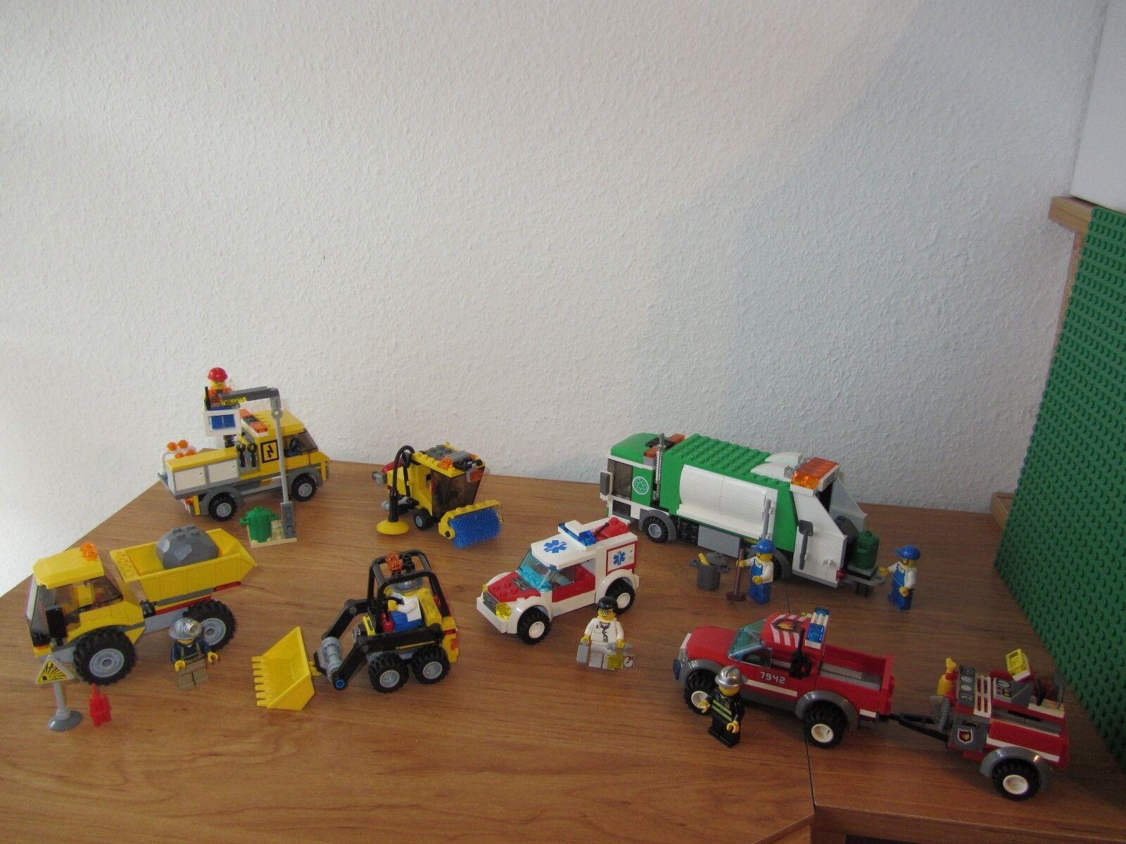 LEGO City 6 veicoli di serie di argomenti raccolta la raccolta kg raccolta