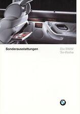 "Prospekt BMW 7er E38 1//94 d  /""die neue 7er Reihe/"""