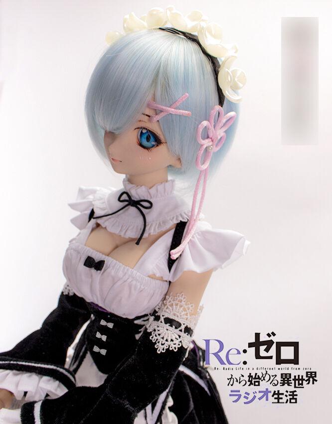 1/3 Bjd Dollfie Traum Puppe Kleidung Ddl / Ddm Remu Cosplay Kleid Outfit 99dl