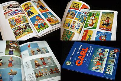 100 JAHRE MAX CARL BLECH SPIELWAREN BUCH KATALOG MIT 190 BILDSEITEN CARL toys