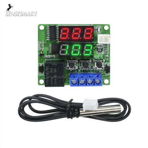 Sensor 50-120°C DC12V Red W1219 Dual Digital thermostat Temperature Controler
