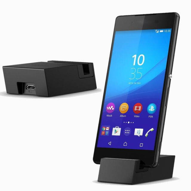 DK52 For Sony Xperia Z3+ Z4 Micro USB Desktop Cradle Dock USB Charger Charging