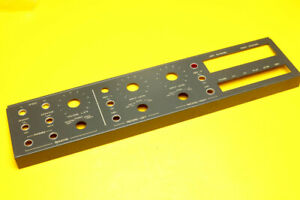 Revox B77 MKII 2 Track FACEPLATE Cover Front Face Slow LOW Speed 15/16 1 7/8