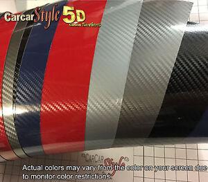 Dynamique 5d Gloss Brillant 750 Mm X 300 En Fibre De Carbone Vinyle Wrap Autocollant Pour Conditionnement-afficher Le Titre D'origine Finement Traité