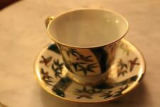 Shafford hand painted - China bone cup and saucer with a gold rim - Japan origin