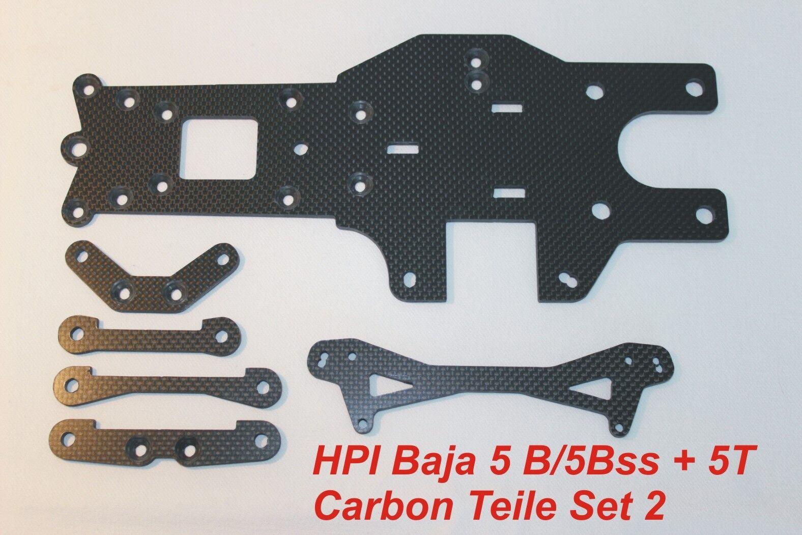 Hpi Hpi Hpi Baja 5B   5bss 5T CARBONE Parti set 2 TUNING HD Full Carbon 6 teilig 81c3d9