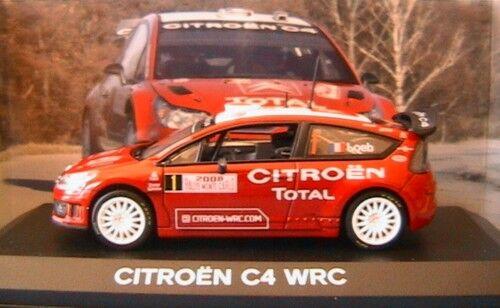 CITROEN C4 WRC  1 RMC 2008 LOEB ELENA NOREV 155418 1 43