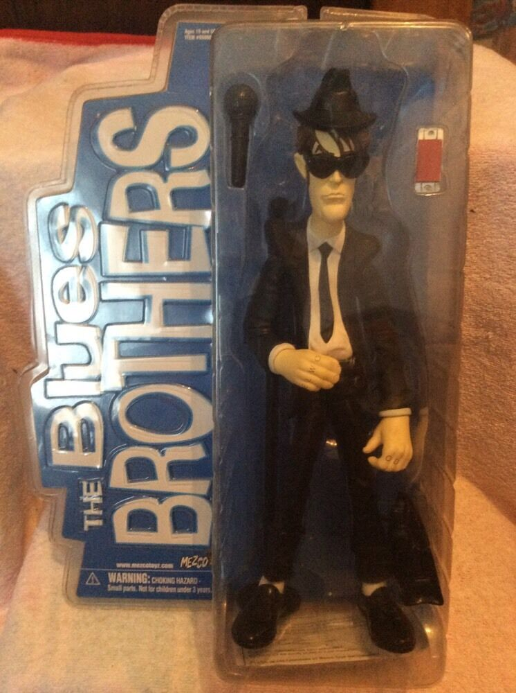 Very rare mezco the bluees bredhers large elwood figure