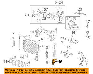 jaguar oem 09 10 xf 4 2l v8 radiator heater hose c2z4030 ebay rh ebay com 2006 Jeep Commander Heater Hose Diagram Ford Taurus Heater Hose Diagram