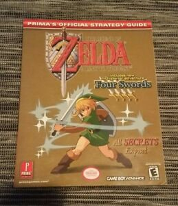 Legend-of-Zelda-LINK-TO-THE-PAST-FOUR-SWORDS-Prima-Official-Guide-GAME-BOY