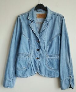 LEVI-LADIES-LIGHT-STONEWASHED-RARE-DENIM-JACKET-SIZE-M-UK-12