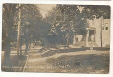 RPPC Normal Ave View SHIPPENSBURG PA Laughlin Cumberland County Real Photo PC