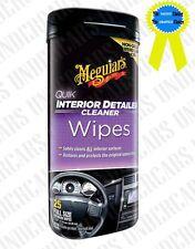 Meguiars Quick Interior Detailer Cleaner Wipes - Matte Finish Type