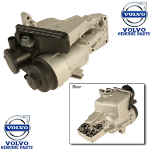 Volvo C30 S40 V50 C70 Oil Filter Housing Genuine 31338685 ...