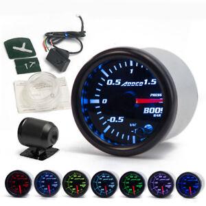 2-039-039-52mm-Universal-Car-LED-Turbo-Boost-Gauge-Meter-Pointer-Bar-7-Color-Display