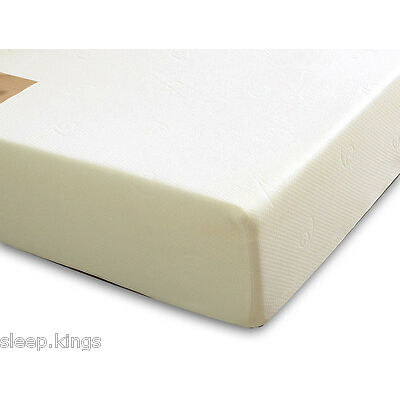 "Orthopaedic Memory Foam Mattress 6"" Deep In Stock In All Sizes"