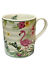 Tasse Ø 7 cm x Höhe 8 cm Tasse für Tee Kaffee mit dem Motiv Flamingo